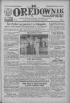 Orędownik Wielkopolski: ludowy dziennik narodowy i katolicki w Polsce 1933.01.21 R.63 Nr17