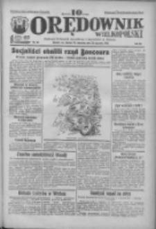 Orędownik Wielkopolski: ludowy dziennik narodowy i katolicki w Polsce 1933.01.29 R.63 Nr24