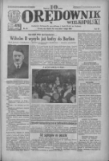 Orędownik Wielkopolski: ludowy dziennik narodowy i katolicki w Polsce 1933.02.01 R.63 Nr26