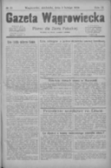 Gazeta Wągrowiecka: pismo dla ziemi pałuckiej 1929.02.03 R.9 Nr15
