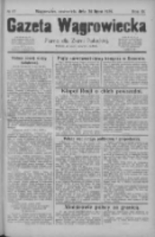 Gazeta Wągrowiecka: pismo dla ziemi pałuckiej 1929.07.25 R.9 Nr87