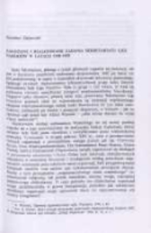 Założone i realizowane zadania Sekretariatu Ligi Narodów w latach 1919-1933