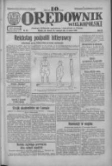 Orędownik Wielkopolski: ludowy dziennik narodowy i katolicki w Polsce 1933.03.16 R.63 Nr62