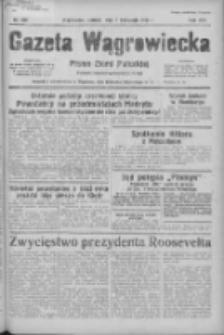 Gazeta Wągrowiecka: pismo ziemi pałuckiej 1936.11.07 R.16 Nr260