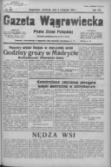 Gazeta Wągrowiecka: pismo ziemi pałuckiej 1936.11.08 R.16 Nr261