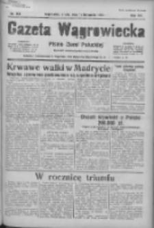 Gazeta Wągrowiecka: pismo ziemi pałuckiej 1936.11.11 R.16 Nr263