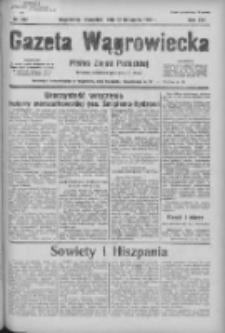 Gazeta Wągrowiecka: pismo ziemi pałuckiej 1936.11.12 R.16 Nr264