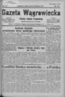 Gazeta Wągrowiecka: pismo ziemi pałuckiej 1936.11.20 R.16 Nr271