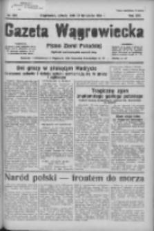 Gazeta Wągrowiecka: pismo ziemi pałuckiej 1936.11.21 R.16 Nr272