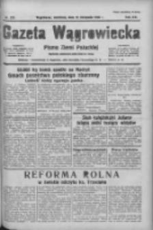 Gazeta Wągrowiecka: pismo ziemi pałuckiej 1936.11.22 R.16 Nr273