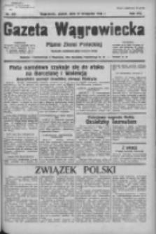 Gazeta Wągrowiecka: pismo ziemi pałuckiej 1936.11.27 R.16 Nr277