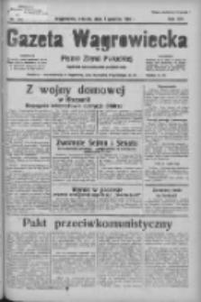Gazeta Wągrowiecka: pismo ziemi pałuckiej 1936.12.01 R.16 Nr280