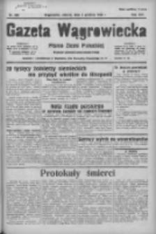 Gazeta Wągrowiecka: pismo ziemi pałuckiej 1936.12.05 R.16 Nr284