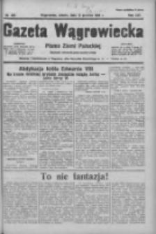 Gazeta Wągrowiecka: pismo ziemi pałuckiej 1936.12.12 R.16 Nr289