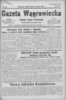Gazeta Wągrowiecka: pismo ziemi pałuckiej 1936.12.15 R.16 Nr291
