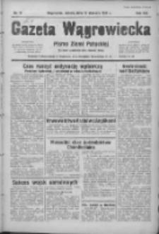 Gazeta Wągrowiecka: pismo ziemi pałuckiej 1939.01.14 R.19 Nr11