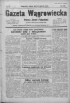 Gazeta Wągrowiecka: pismo ziemi pałuckiej 1939.01.28 R.19 Nr23