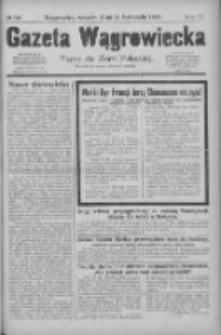 Gazeta Wągrowiecka: pismo dla ziemi pałuckiej 1929.11.26 R.9 Nr140