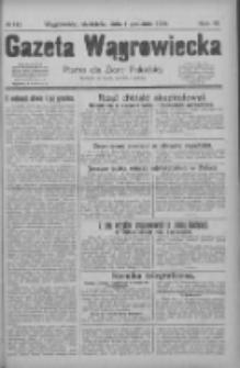 Gazeta Wągrowiecka: pismo dla ziemi pałuckiej 1929.12.01 R.9 Nr142