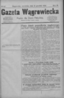 Gazeta Wągrowiecka: pismo dla ziemi pałuckiej 1929.12.12 R.9 Nr147
