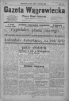 Gazeta Wągrowiecka: pismo ziemi pałuckiej 1932.01.01 R.12 Nr1