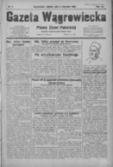 Gazeta Wągrowiecka: pismo ziemi pałuckiej 1932.01.08 R.12 Nr5