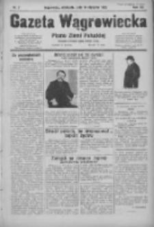 Gazeta Wągrowiecka: pismo ziemi pałuckiej 1932.01.10 R.12 Nr7