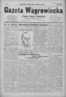 Gazeta Wągrowiecka: pismo ziemi pałuckiej 1932.01.13 R.12 Nr9