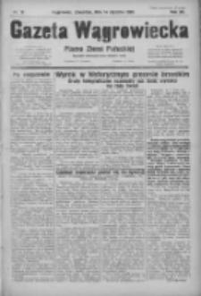 Gazeta Wągrowiecka: pismo ziemi pałuckiej 1932.01.14 R.12 Nr10