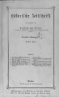 Historische Zeitschrift. 1872 Band 27 Heft 1-2