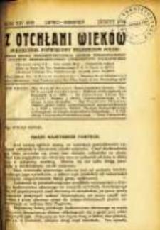 Z Otchłani Wieków. 1939 R.14 z.7-8