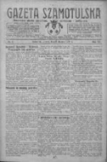 Gazeta Szamotulska: niezależne pismo narodowe, społeczne i polityczne 1928.01.03 R.7 Nr1