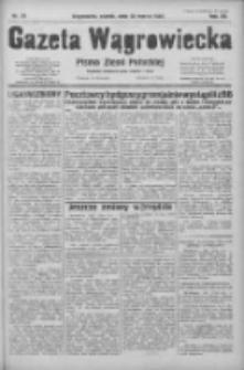 Gazeta Wągrowiecka: pismo ziemi pałuckiej 1932.03.25 R.12 Nr70