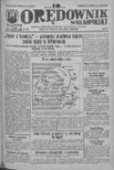 Orędownik Wielkopolski: ludowy dziennik narodowy i katolicki w Polsce 1933.07.22 R.63 Nr166