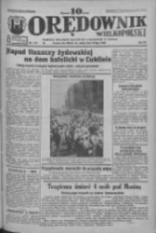 Orędownik Wielkopolski: ludowy dziennik narodowy i katolicki w Polsce 1933.07.29 R.63 Nr172