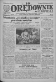 Orędownik Wielkopolski: ludowy dziennik narodowy i katolicki w Polsce 1933.08.11 R.63 Nr183