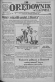 Orędownik Wielkopolski: ludowy dziennik narodowy i katolicki w Polsce 1933.08.13 R.63 Nr185