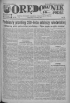 Orędownik Polski: ludowy dziennik narodowy i katolicki w Polsce 1933.09.12 R.63 Nr209