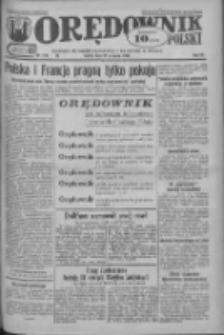Orędownik Polski: ludowy dziennik narodowy i katolicki w Polsce 1933.09.23 R.63 Nr219