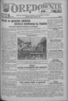 Orędownik Polski: ludowy dziennik narodowy i katolicki w Polsce 1933.09.28 R.63 Nr223