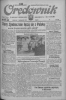 Orędownik: ludowy dziennik narodowy i katolicki 1933.10.04 R.63 Nr228