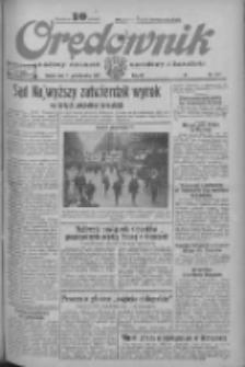 Orędownik: ludowy dziennik narodowy i katolicki 1933.10.07 R.63 Nr231