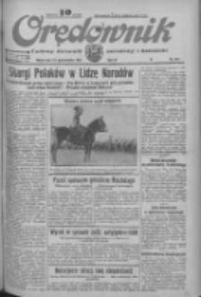 Orędownik: ludowy dziennik narodowy i katolicki 1933.10.14 R.63 Nr237