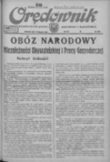 Orędownik: ilustrowane pismo narodowe i katolickie 1933.11.05 R.63 Nr255