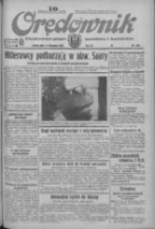 Orędownik: ilustrowane pismo narodowe i katolickie 1933.11.11 R.63 Nr260