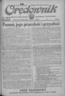 Orędownik: ilustrowane pismo narodowe i katolickie 1933.11.12 R.63 Nr261