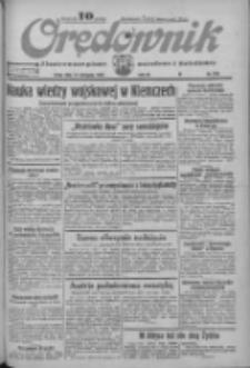 Orędownik: ilustrowane pismo narodowe i katolickie 1933.11.15 R.63 Nr263