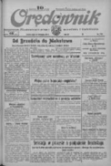 Orędownik: ilustrowane pismo narodowe i katolickie 1933.11.25 R.63 Nr272