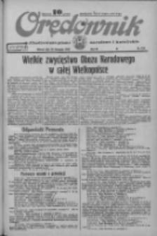 Orędownik: ilustrowane pismo narodowe i katolickie 1933.11.28 R.63 Nr274