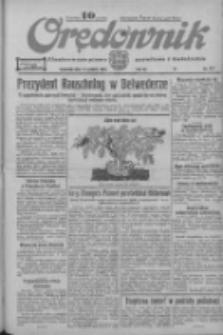 Orędownik: ilustrowane pismo narodowe i katolickie 1933.12.14 R.63 Nr287